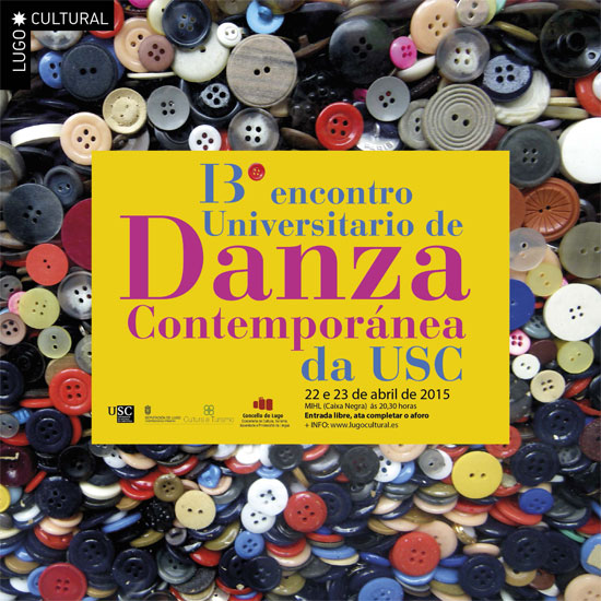 XIII Encontro Universitario de danza contemporánea da USC