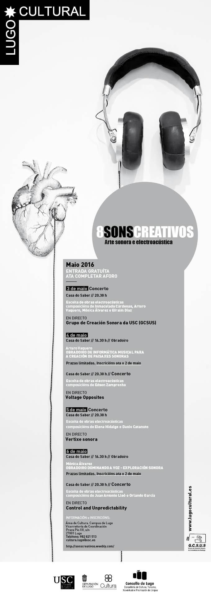 8 Sons Creativos 2016