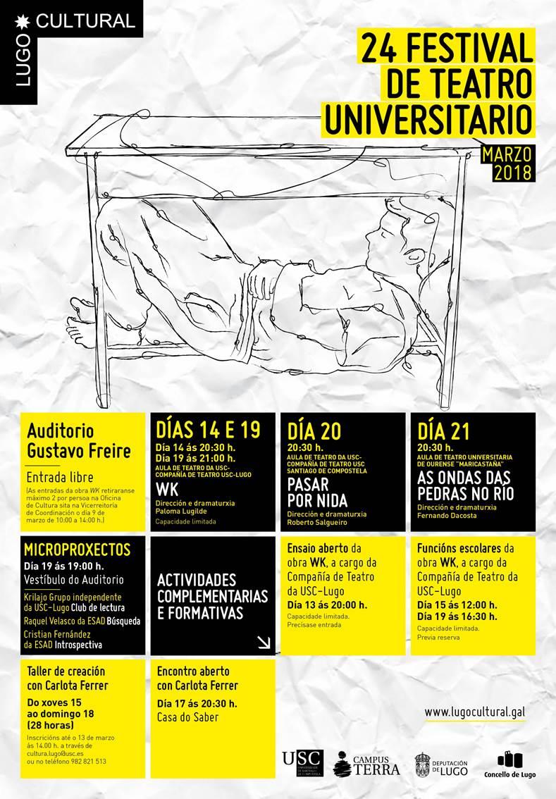 XXIV Festival de Teatro Universitario