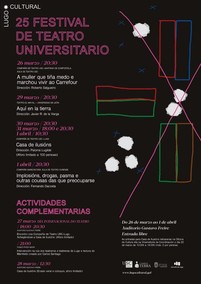 XXV Festival de Teatro Universitario
