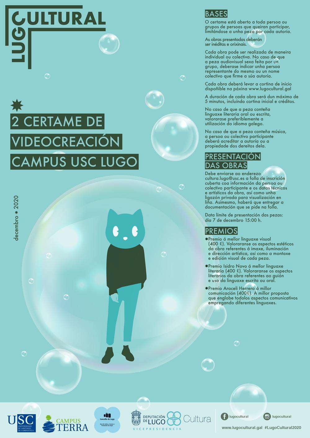II Certame de Videocreación Campus USC Lugo