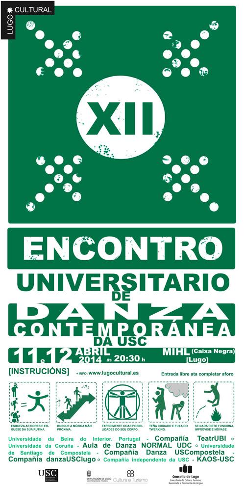 XII Encontro Universitario de danza contemporánea da USC