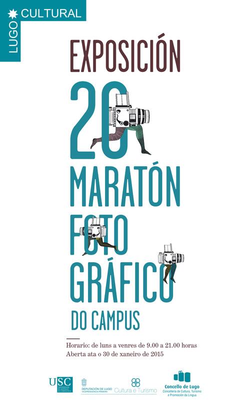 Exposición 20 Maratón Fotográfico do campus